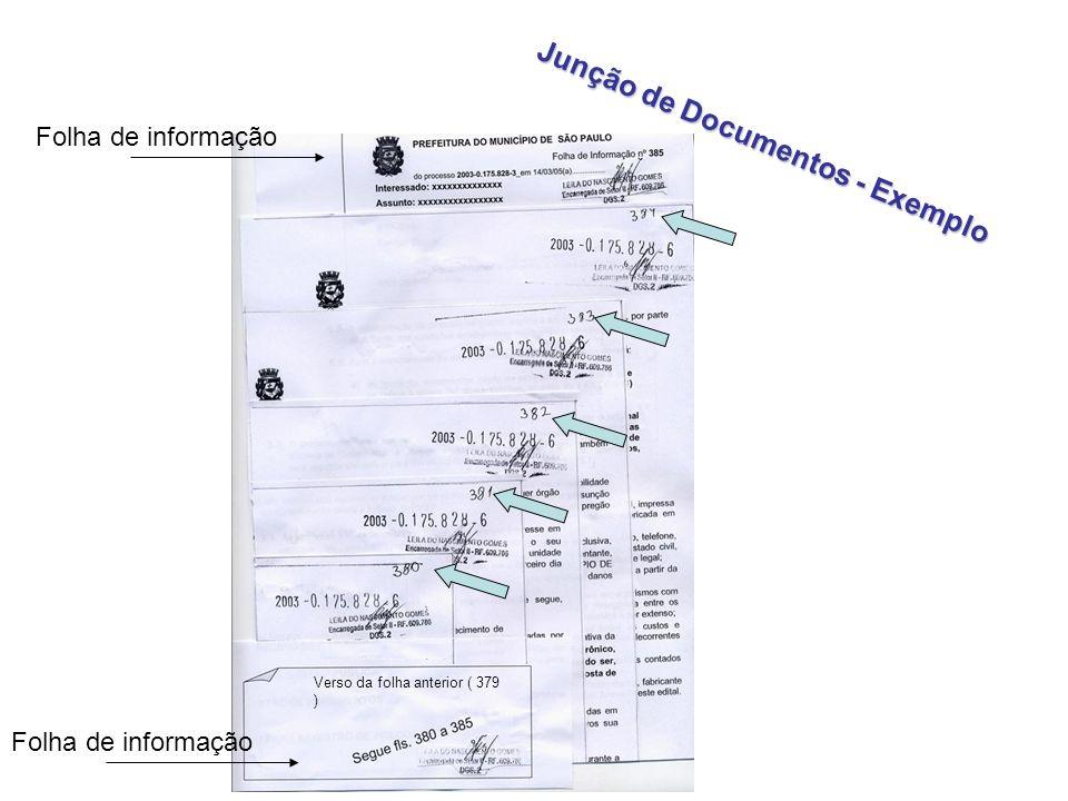 Junção de Documentos - Exemplo