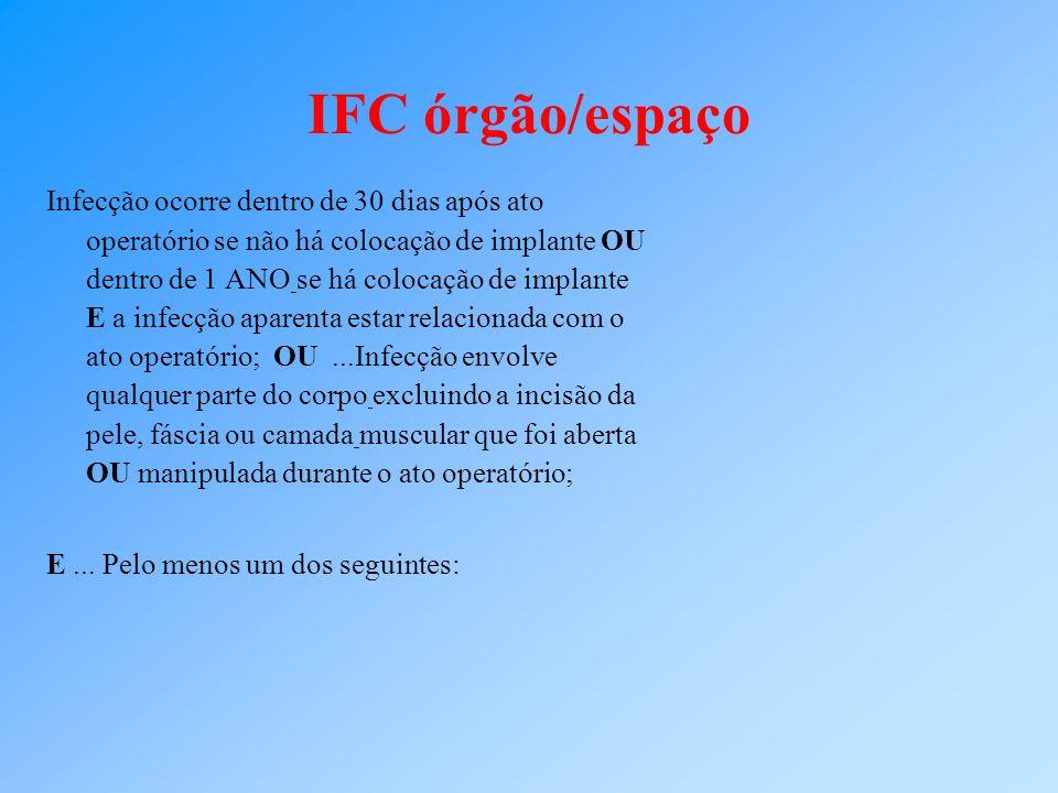 IFC órgão/espaço