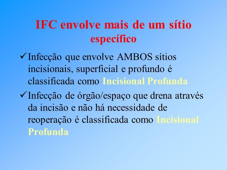 IFC envolve mais de um sítio específico