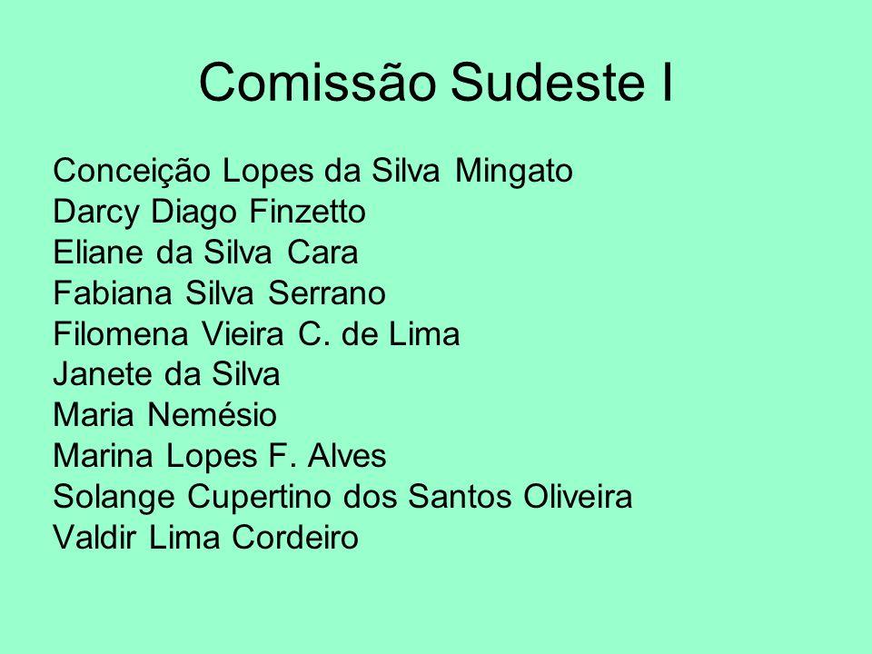 Comissão Sudeste I Conceição Lopes da Silva Mingato