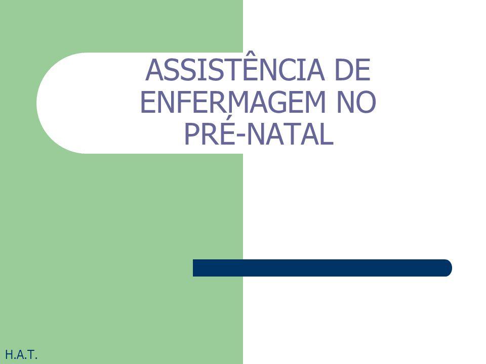 ASSISTÊNCIA DE ENFERMAGEM NO PRÉ-NATAL