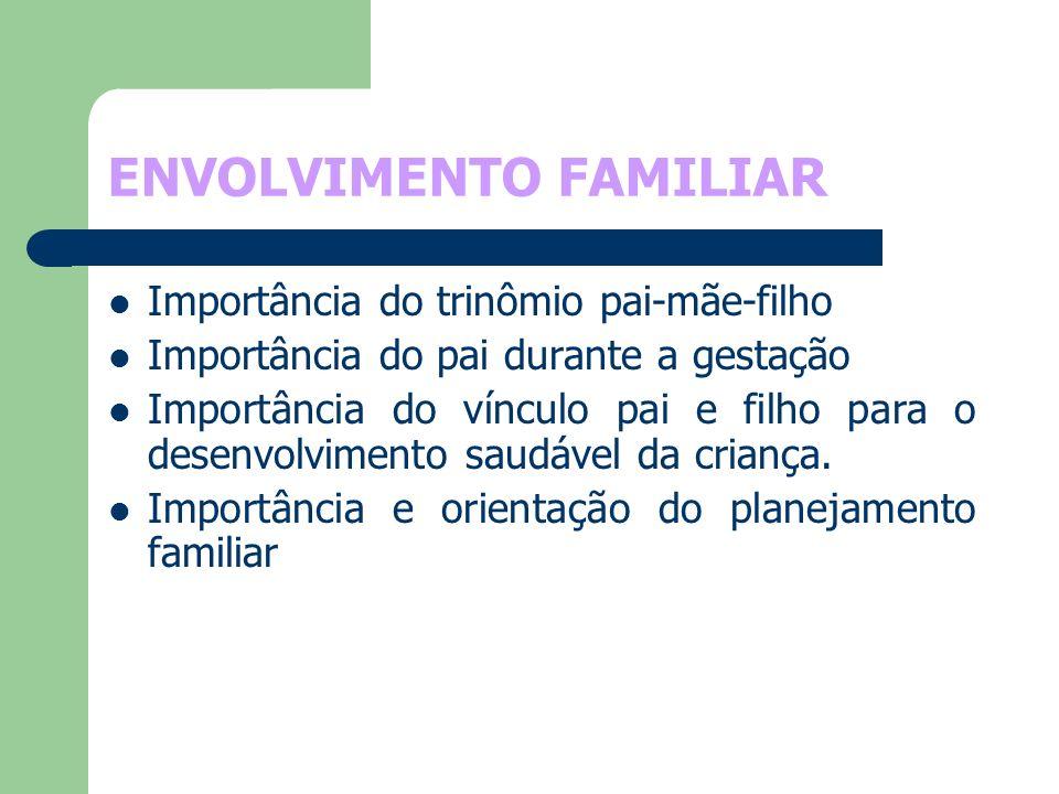 ENVOLVIMENTO FAMILIAR