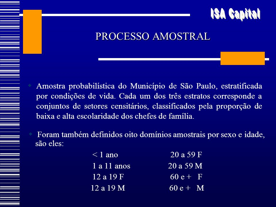 PROCESSO AMOSTRAL