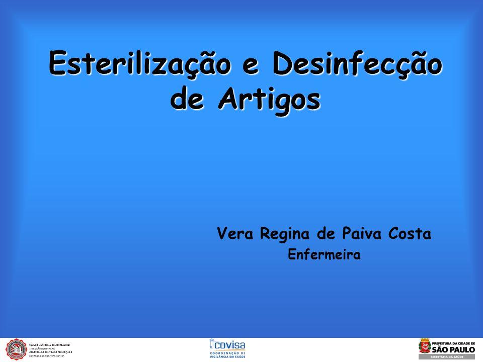 Esterilização e Desinfecção de Artigos