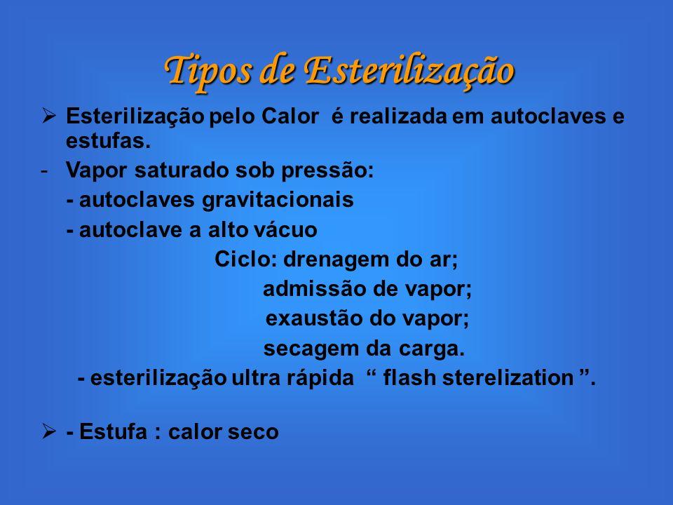 Tipos de Esterilização