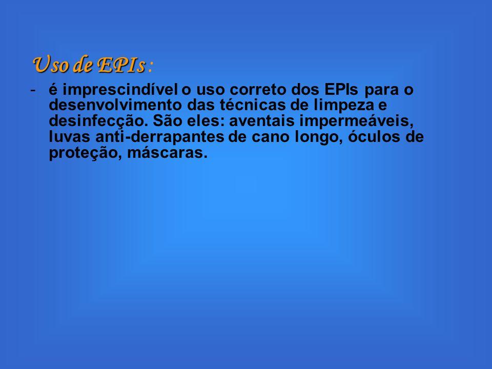 Uso de EPIs :