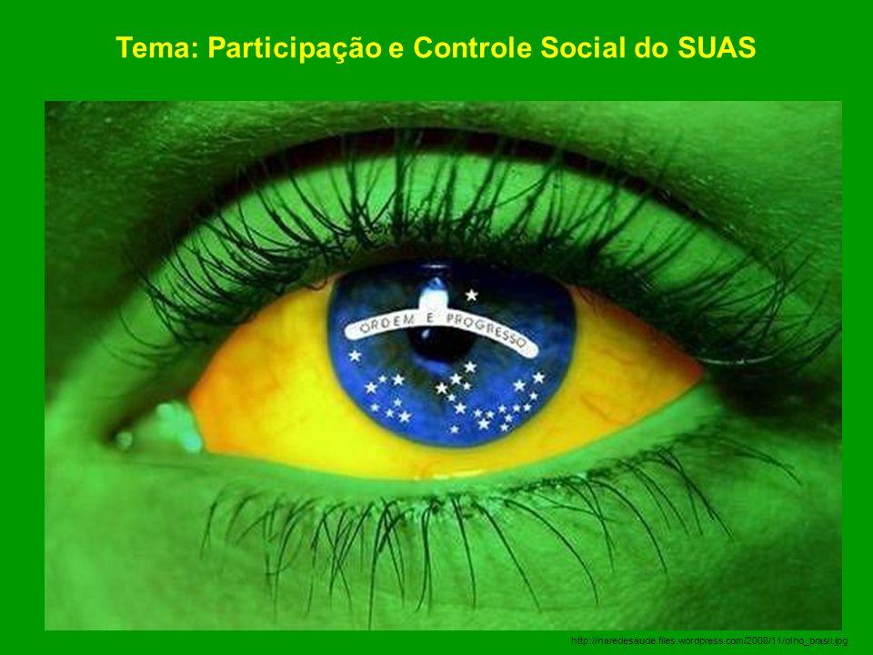 Tema: Participação e Controle Social do SUAS
