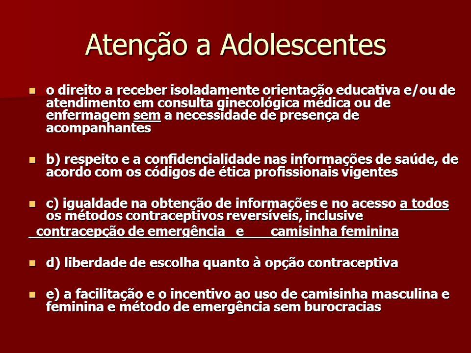 Atenção a Adolescentes