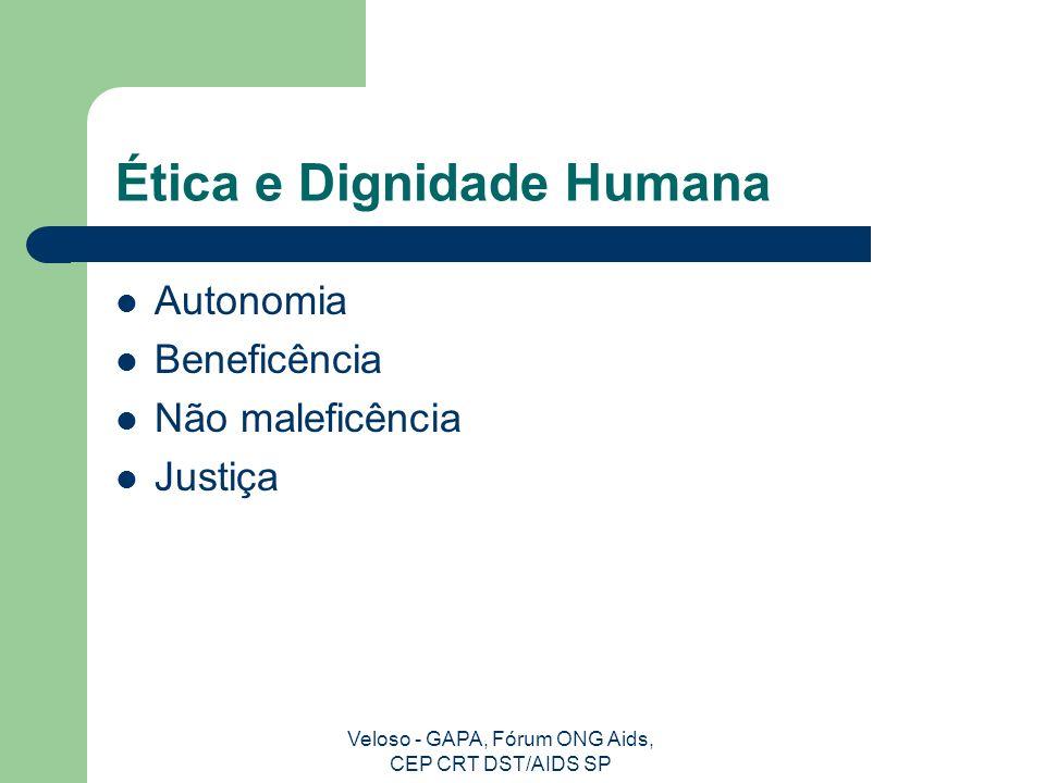 Ética e Dignidade Humana