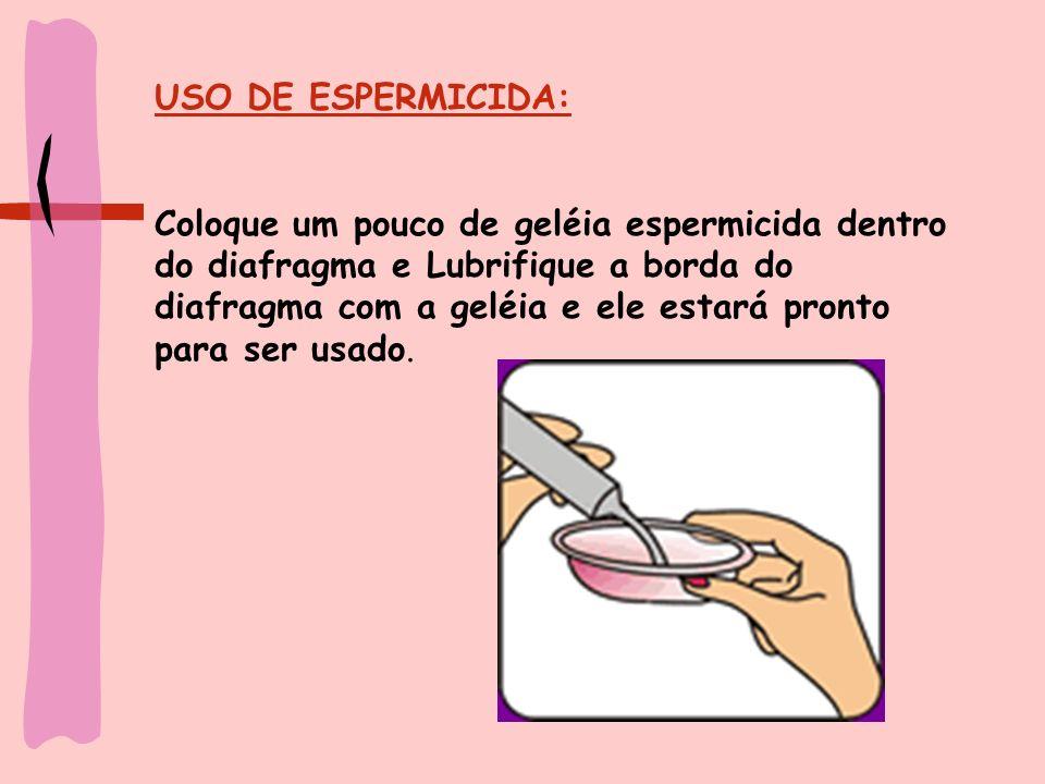 USO DE ESPERMICIDA: