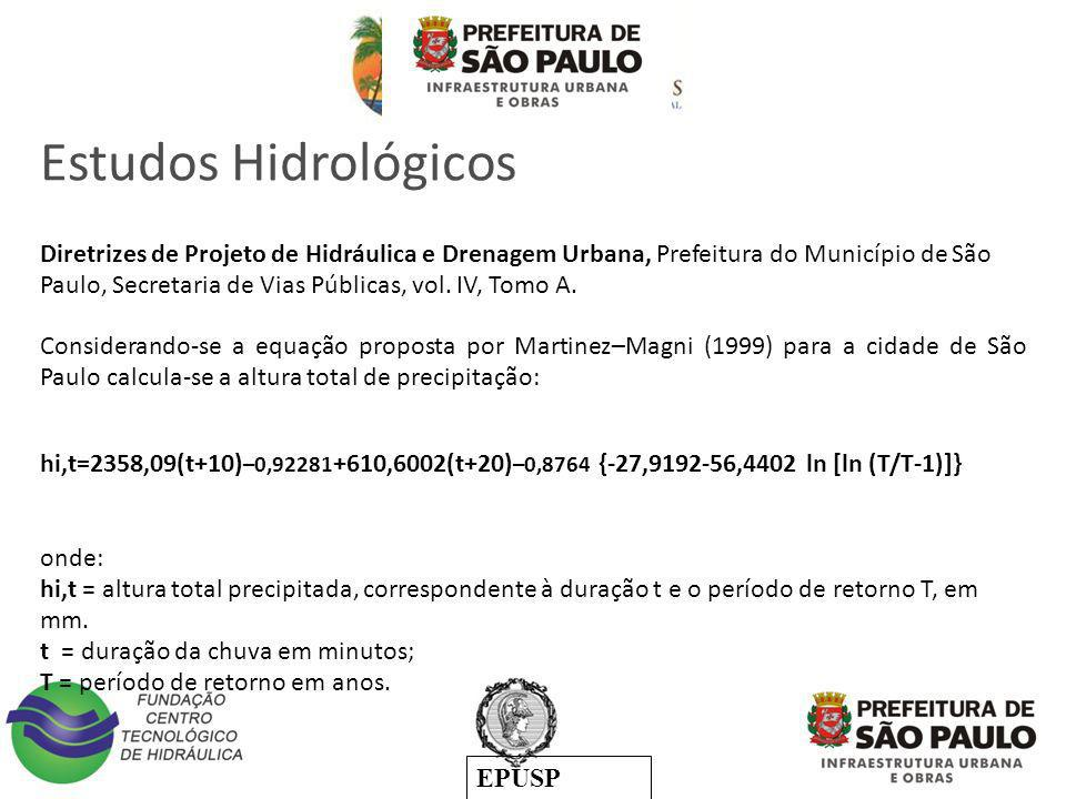 Estudos Hidrológicos