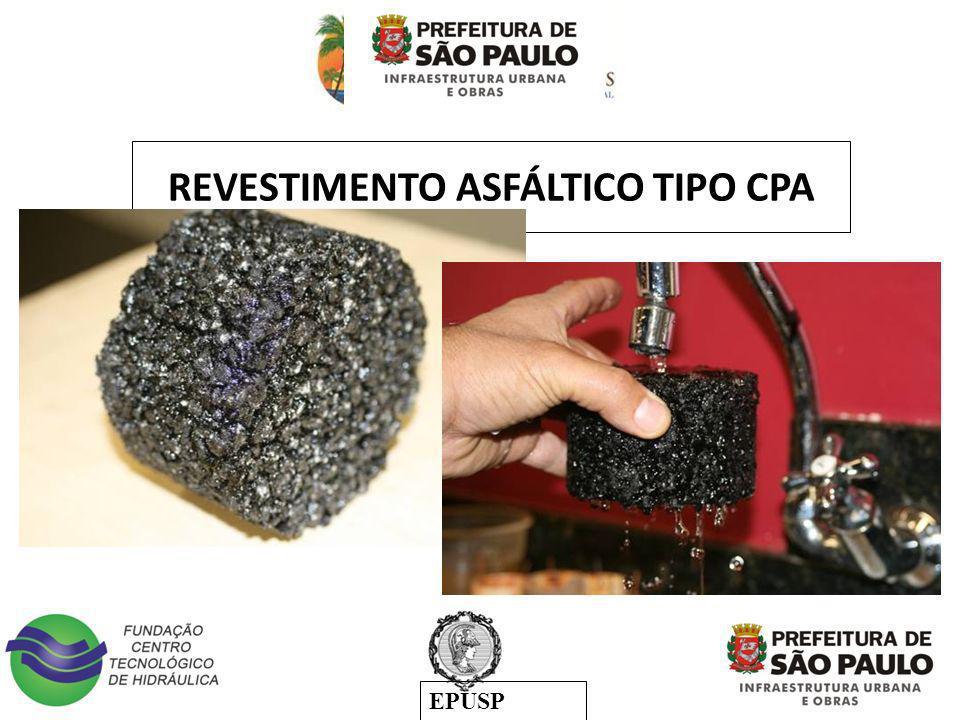 REVESTIMENTO ASFÁLTICO TIPO CPA