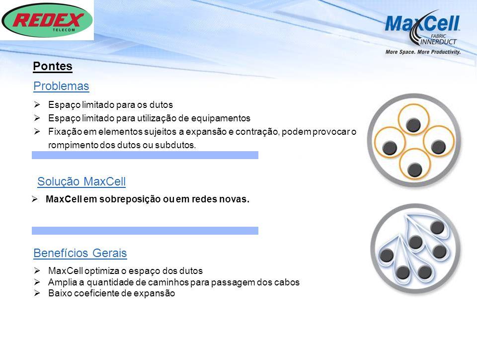 Pontes Problemas Solução MaxCell Benefícios Gerais