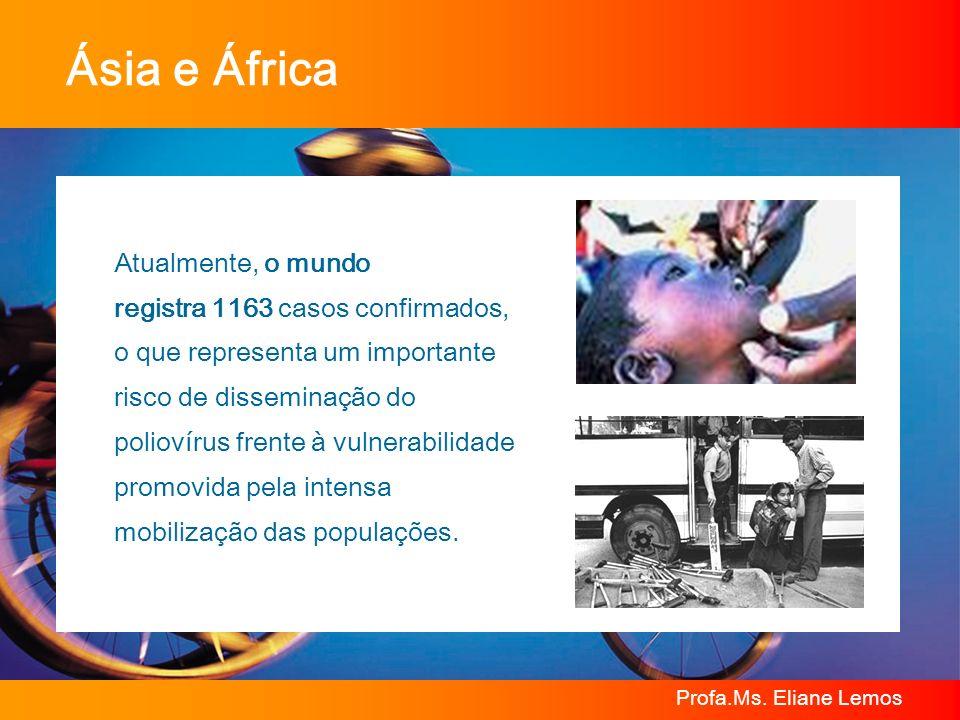 Ásia e África Atualmente, o mundo registra 1163 casos confirmados,