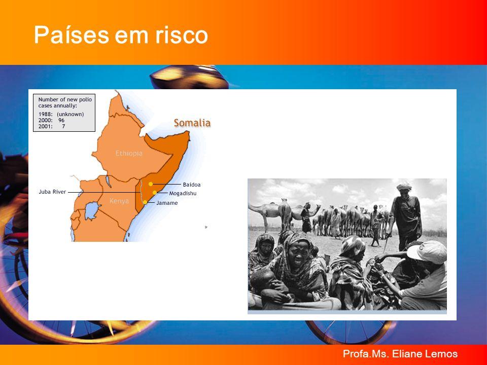 Países em risco Profa.Ms. Eliane Lemos