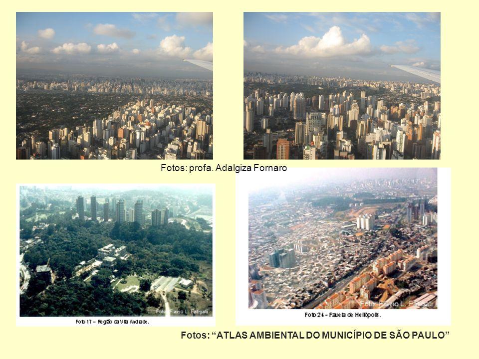 Fotos: ATLAS AMBIENTAL DO MUNICÍPIO DE SÃO PAULO