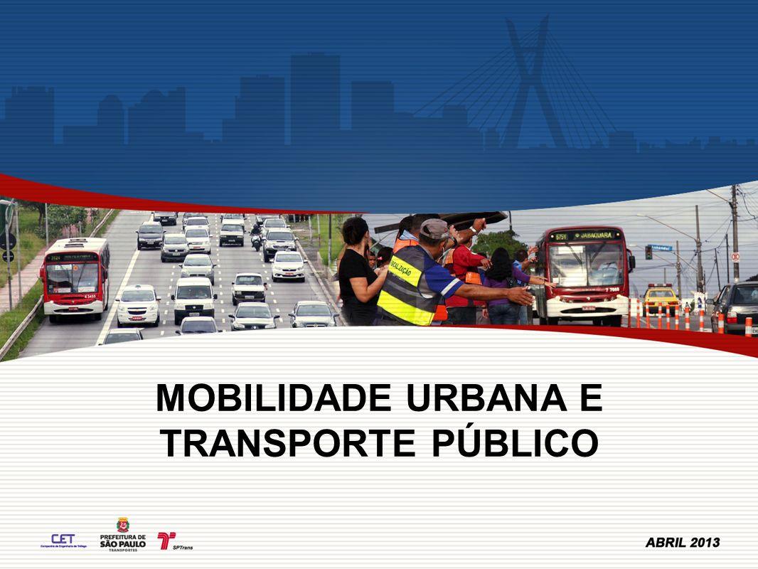 MOBILIDADE URBANA E TRANSPORTE PÚBLICO