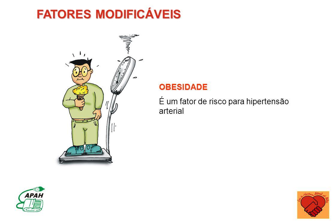 FATORES MODIFICÁVEIS OBESIDADE