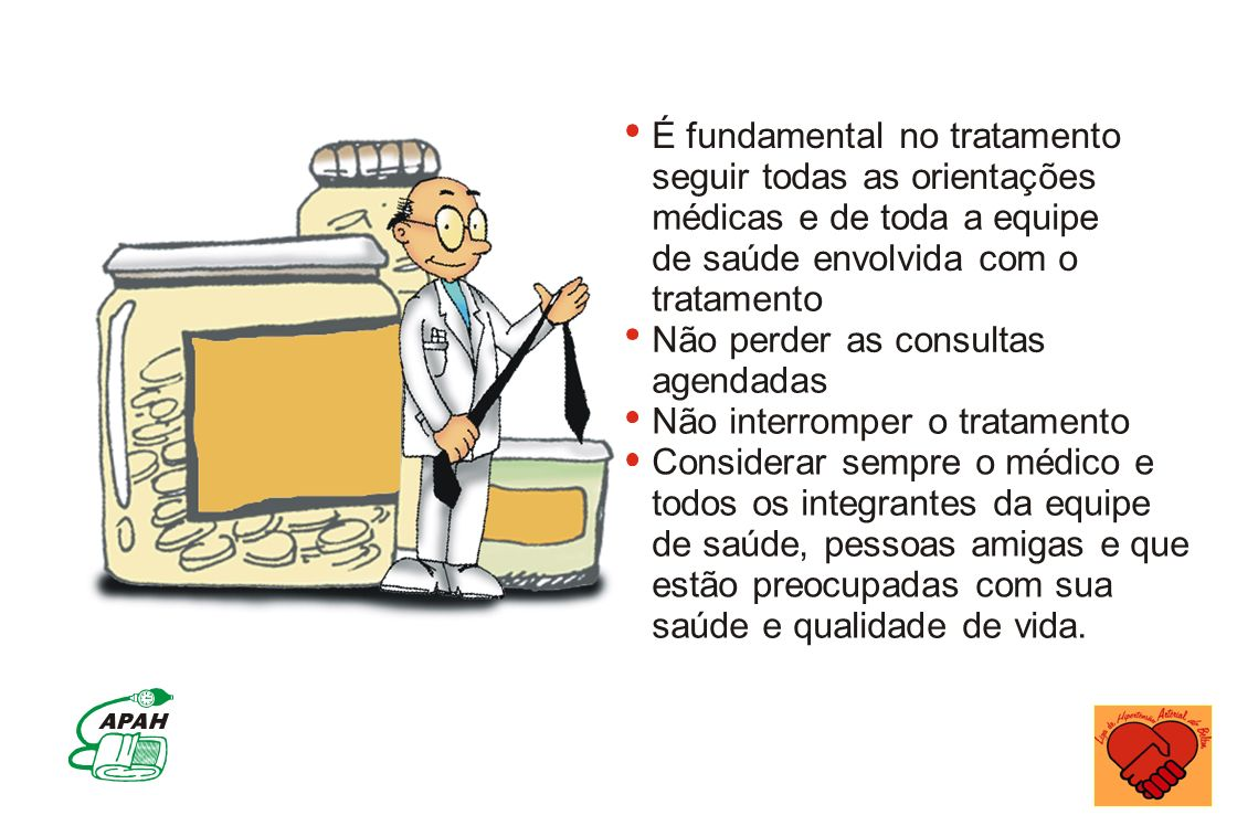 É fundamental no tratamento
