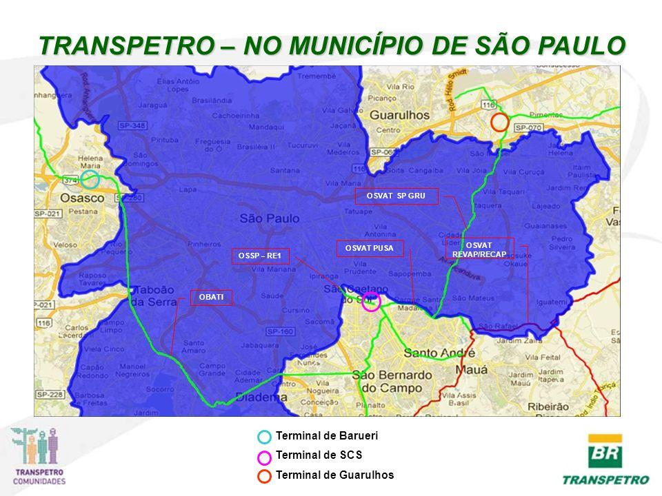 TRANSPETRO – NO MUNICÍPIO DE SÃO PAULO