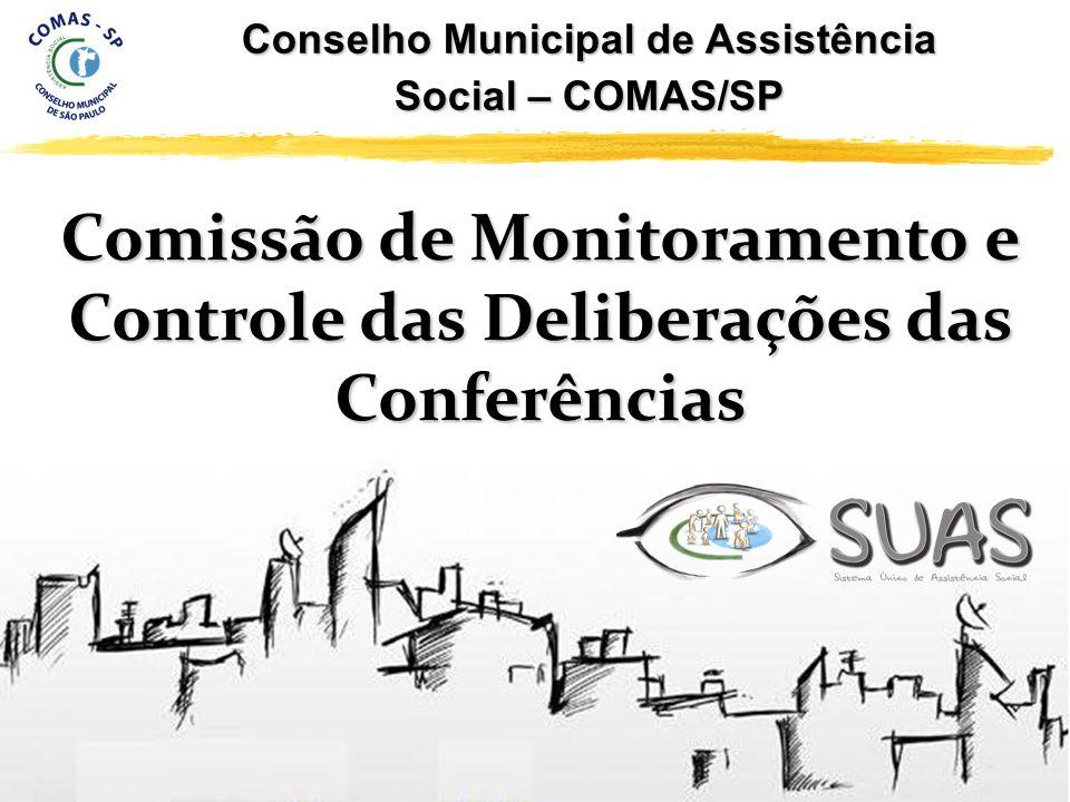 Conselho Municipal de Assistência Social – COMAS/SP