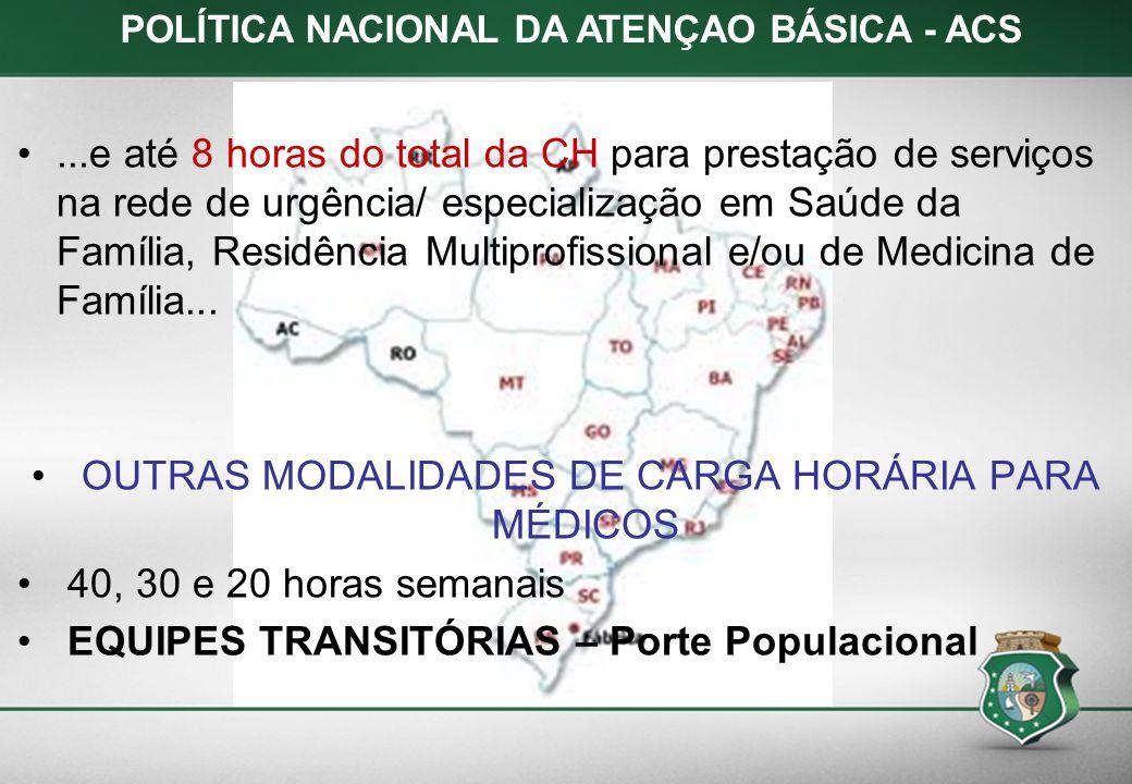 POLÍTICA NACIONAL DA ATENÇAO BÁSICA - ACS