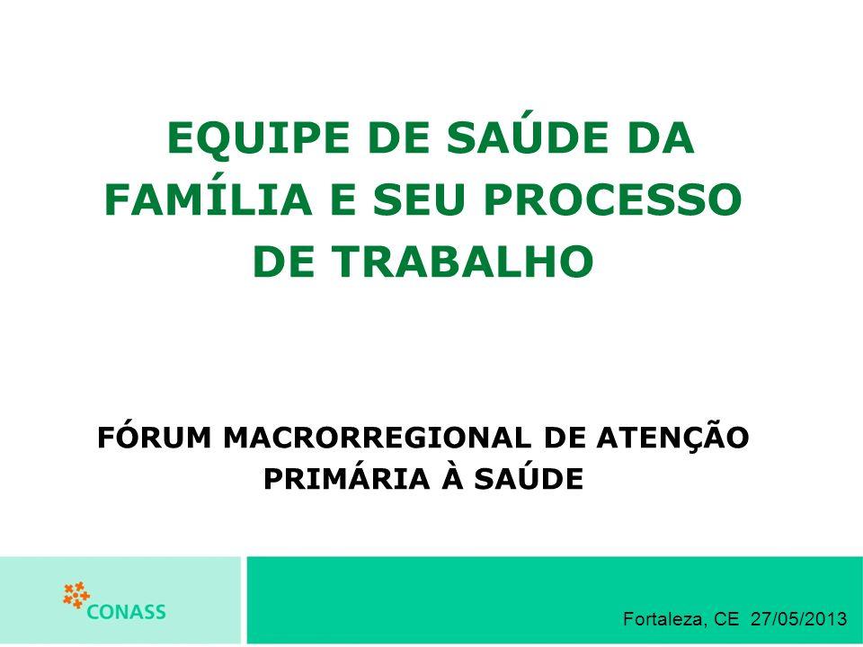 FÓRUM MACRORREGIONAL DE ATENÇÃO PRIMÁRIA À SAÚDE