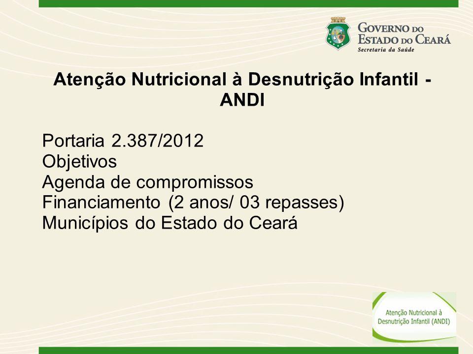 Atenção Nutricional à Desnutrição Infantil - ANDI