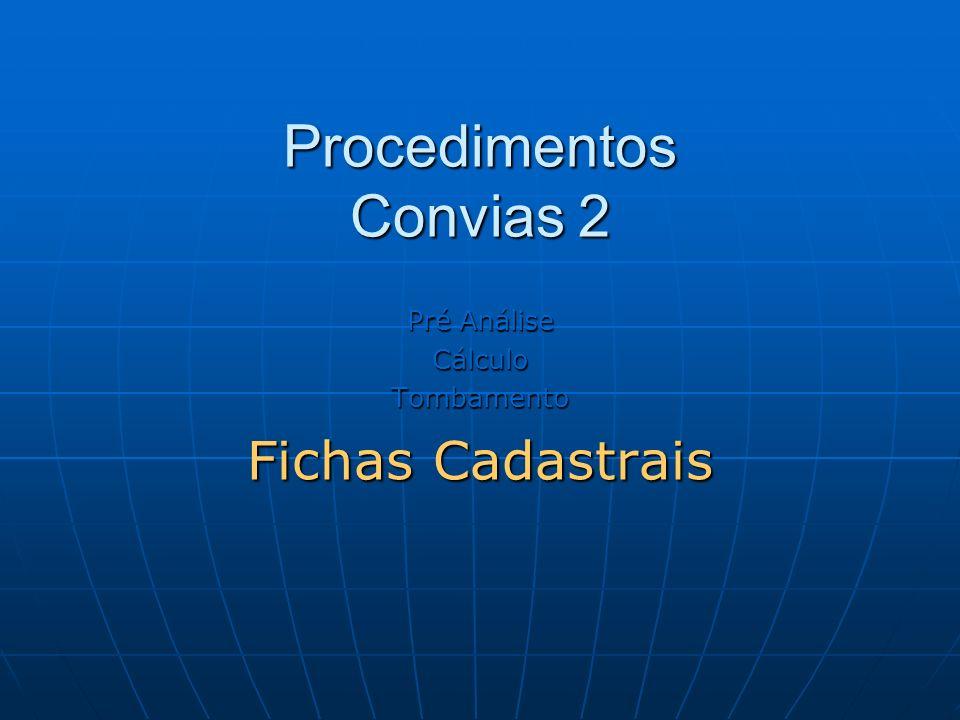 Procedimentos Convias 2