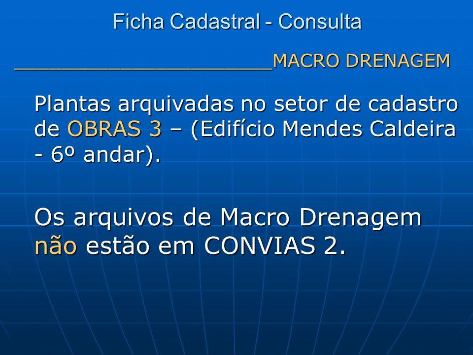 Ficha Cadastral - Consulta