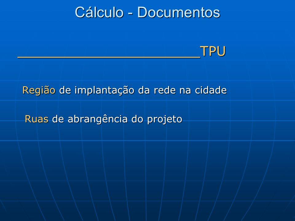 Cálculo - Documentos ______________________TPU