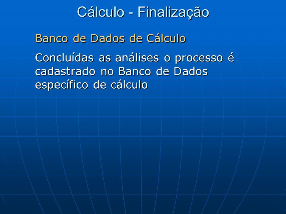 Banco de Dados de Cálculo