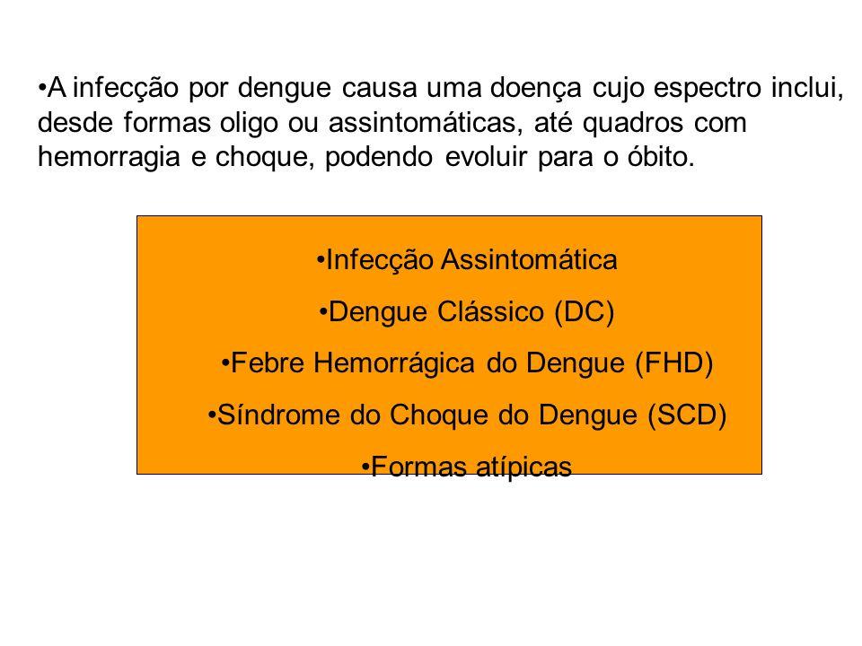 Infecção Assintomática Dengue Clássico (DC)
