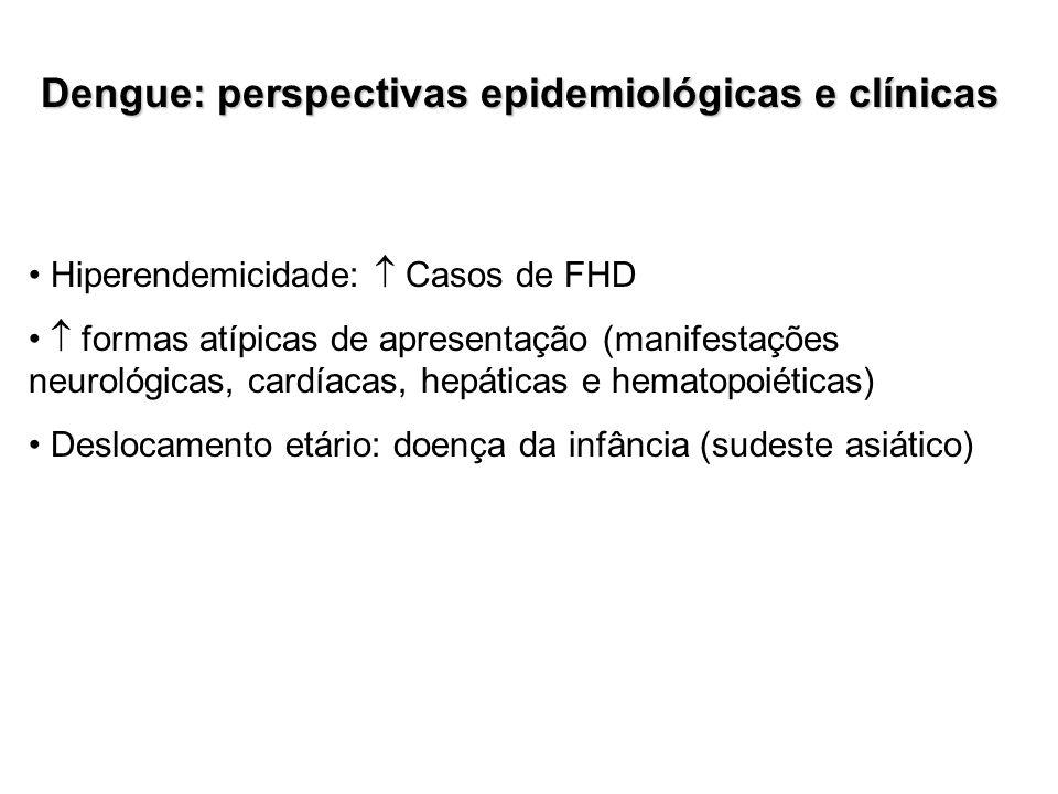 Dengue: perspectivas epidemiológicas e clínicas