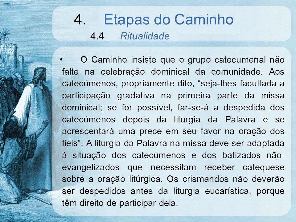 4. Etapas do Caminho 4.4 Ritualidade