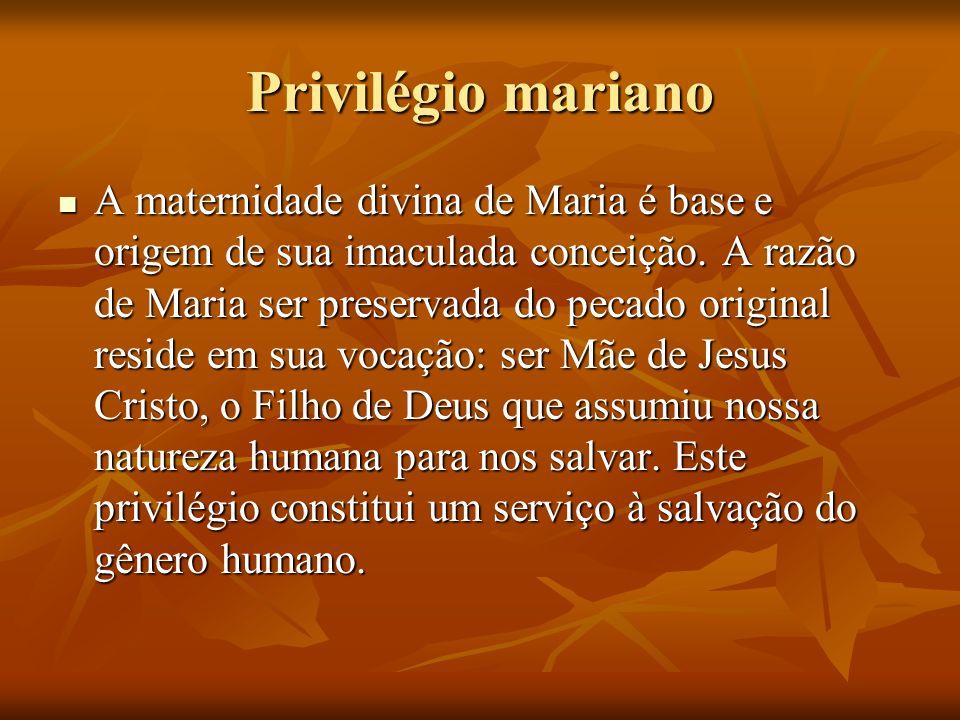 Privilégio mariano