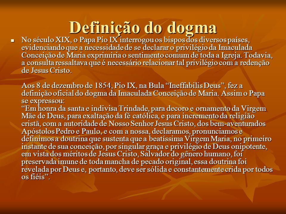 Definição do dogma