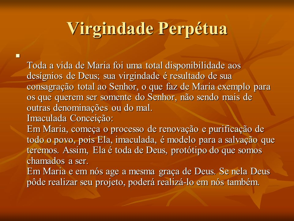 Virgindade Perpétua