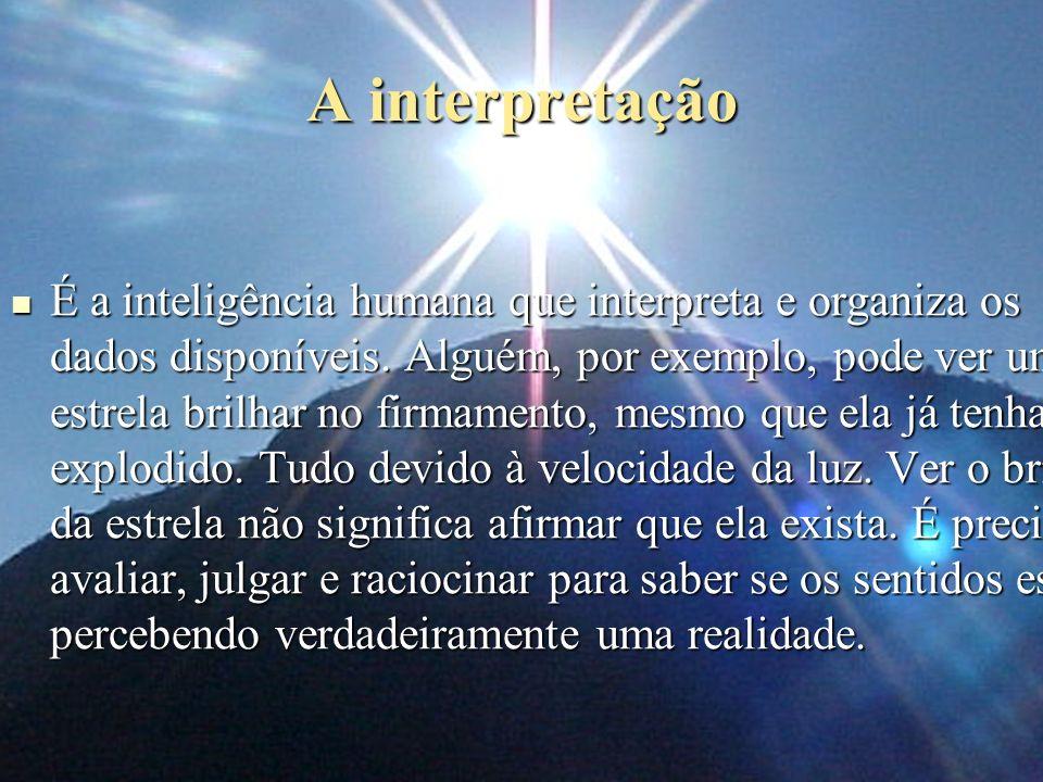 A interpretação