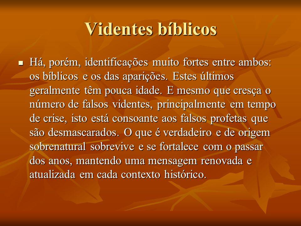 Videntes bíblicos