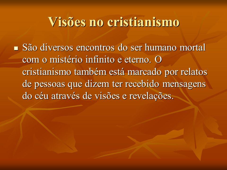 Visões no cristianismo