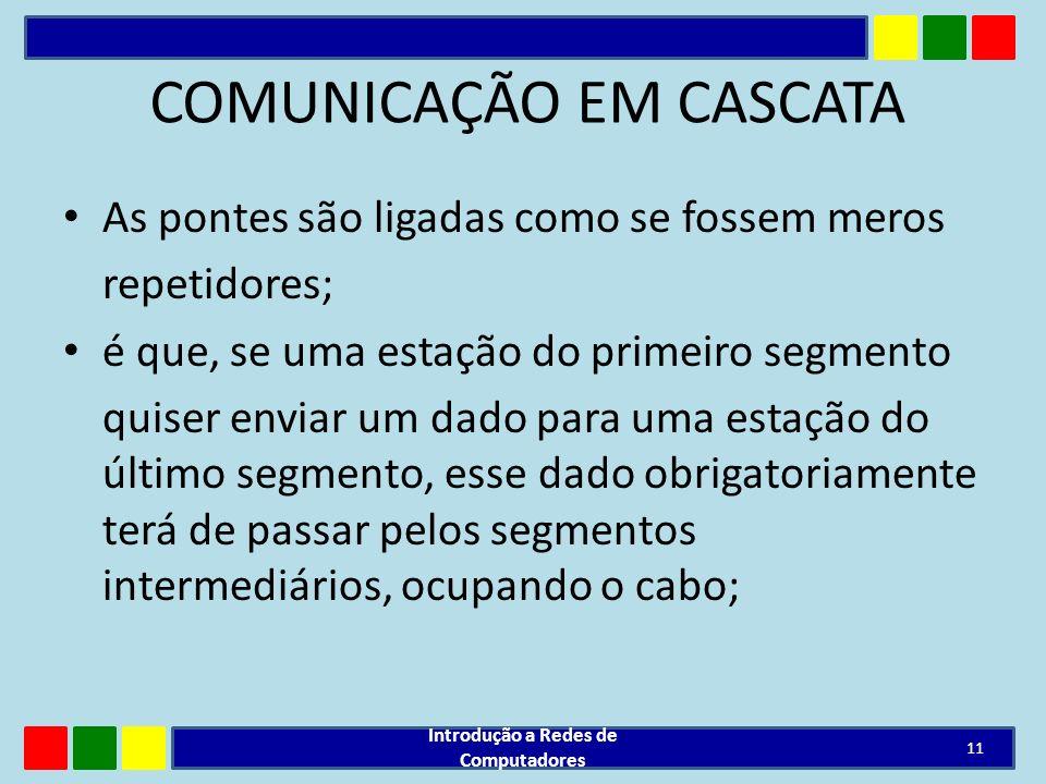 COMUNICAÇÃO EM CASCATA