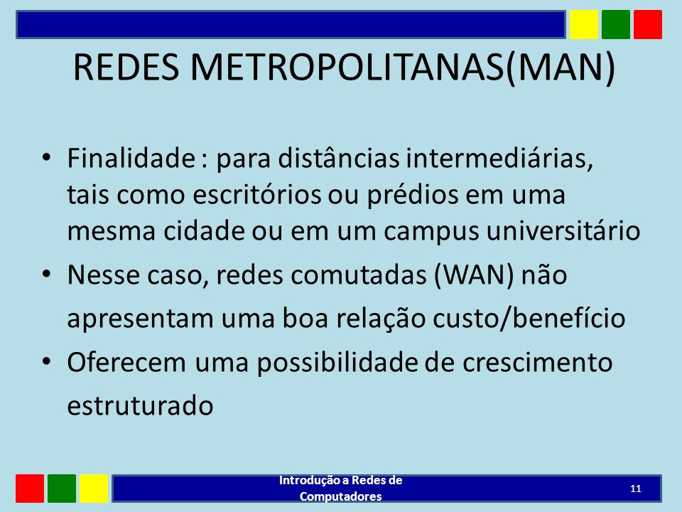REDES METROPOLITANAS(MAN)