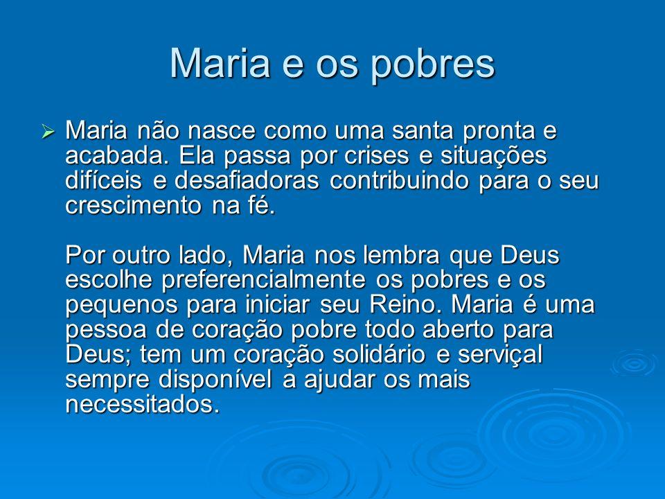 Maria e os pobres