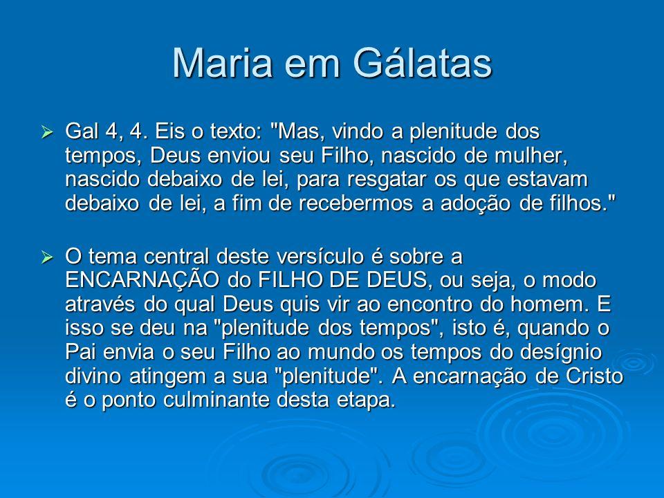 Maria em Gálatas