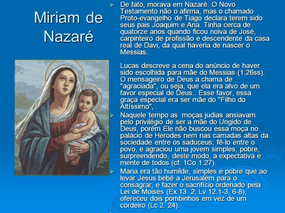 De fato, morava em Nazaré