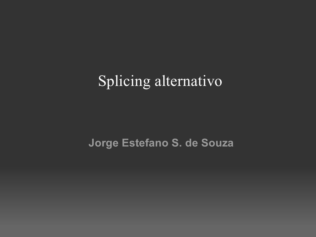 Jorge Estefano S. de Souza