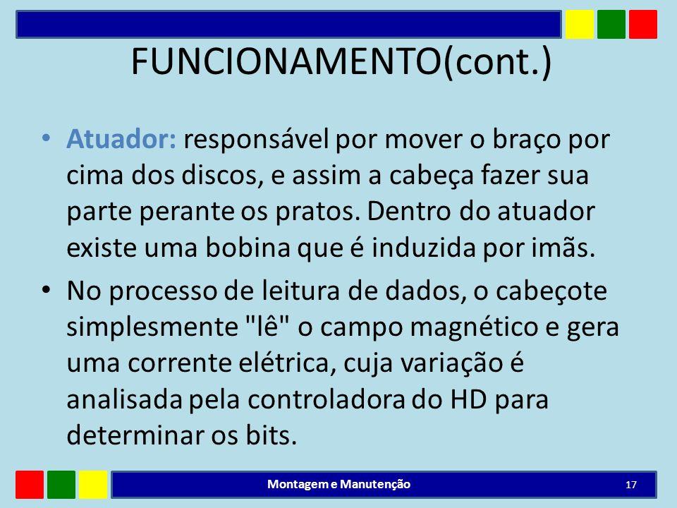 FUNCIONAMENTO(cont.)