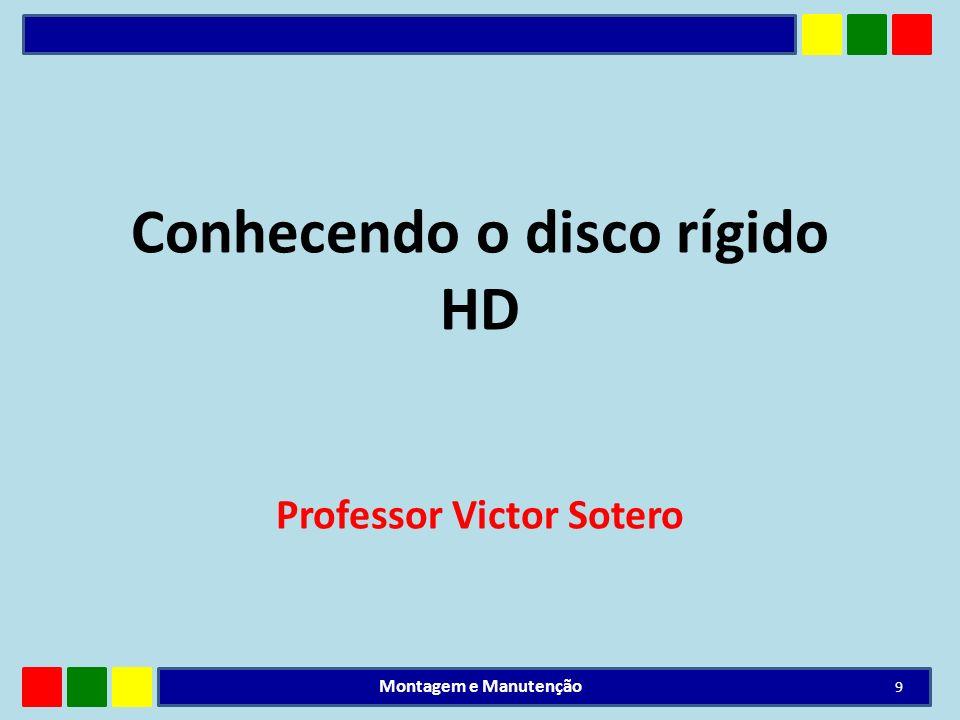 Conhecendo o disco rígido HD