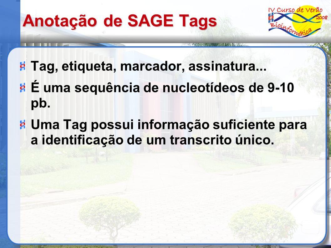 Anotação de SAGE Tags Tag, etiqueta, marcador, assinatura...